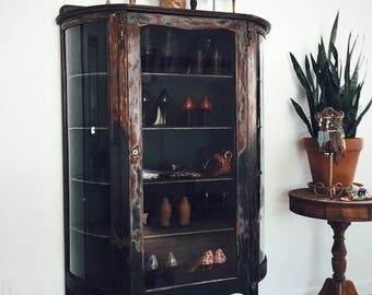 SOLD..... Antique Larkin Curio Cabinet