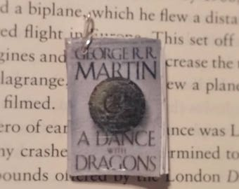 Book Pendant - A Dance With Dragons