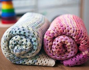 Bamboo Crochet Baby Blanket
