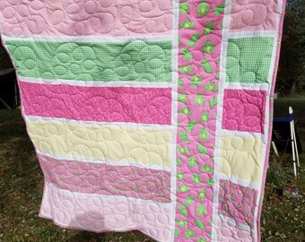 Froggy Girl Quilt