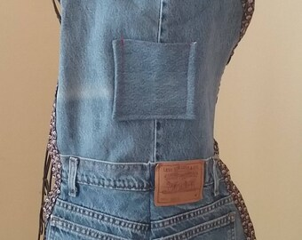 Full Size Blue Jean Apron