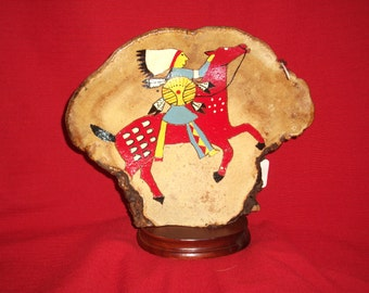 1316 - Indian Painting on Tree Artist's Fungus