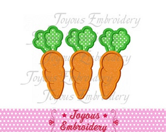 Instant Download Carrots Applique Machine Embroidery Design NO:1493