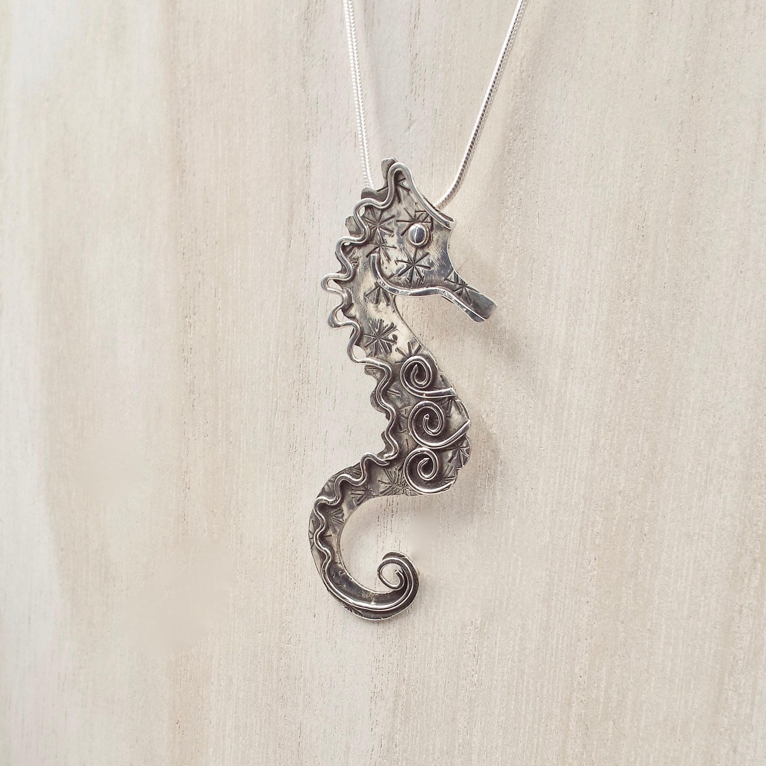 gift whimsy celtic necklace product seahorse shop index