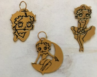 Betty boop charms Etsy