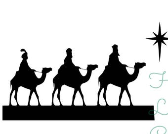 three kings holidays etsy rh etsy com three wise kings clipart three wise men clipart free