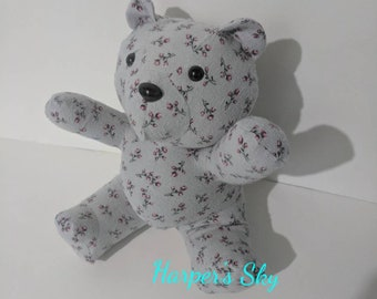 Keepsake Bear, Memory Bear, Keepsake Memory Bear, Handmade bear, Bear