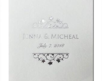 Linen Like Wedding Beverage Napkins~100 White