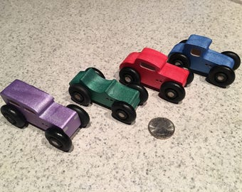 Micro Muscle Cars (Set of 4)
