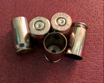 Reloading Brass, .45 ACP Nickel (100-500) ct. Cleaned and Polished