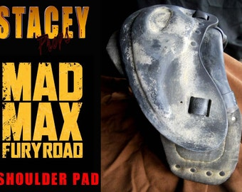 Mad Max Fury Road wearable shoulder pad replica prop for your leather jacket