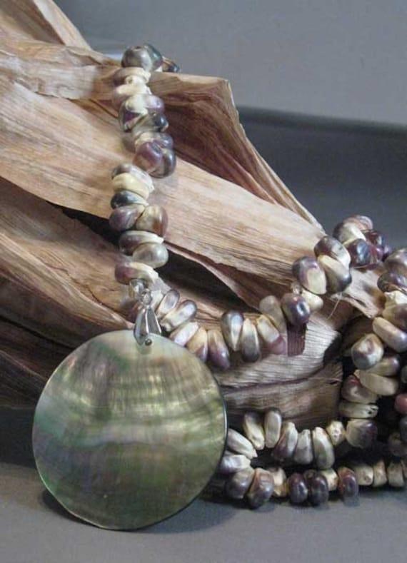 Collar de indio maíz nativo americano hecho maíz maíz Real con