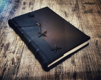 FRANKENSTEIN, or the Modern Prometheus, by Mary Shelley - completly handmade - Libriproibiti/Forbidden Books Edition