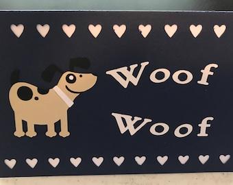 Dog Custom  Card