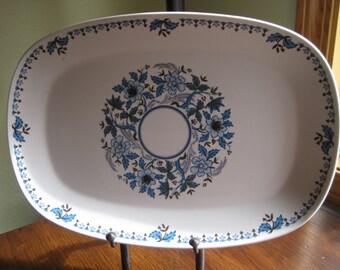 Progression Blue Moon Platter, Noritake, Blue Moon Platter