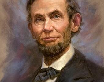 "Abraham Lincoln 1864- 8x10"""