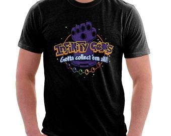 Infinity Gems Shirt  - Thanos Pokemon Shirt | T-shirt for Women Men | Movie Game T-shirt