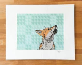 Howl Digital Print