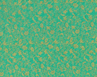 Hanji Paper turquoise/gold