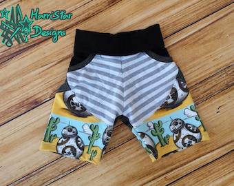 Treasure Pocket Shorts (Shorties, Board Shorts, Capris, Pants) PDF pattern 3m-12Y