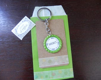 """DOOR keys """"MERCI"""" and a complete gift package"""