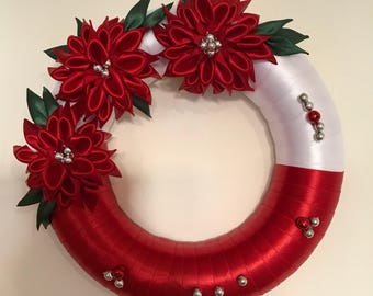 Christmas door wreath!