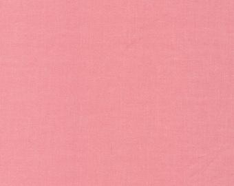 Cirrus Solids Petal Organic Cotton Quilting Fabric Pink Broadcloth Cloud9