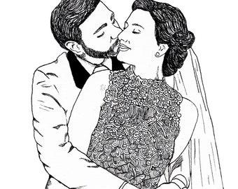 Custom Portraiture - Weddings & Events