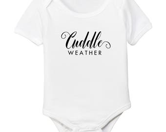 Cuddle Weather Organic Cotton Baby Bodysuit
