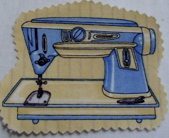 MACHINE SEWING 4 - FUSIBLE COTTON APPLIQUE
