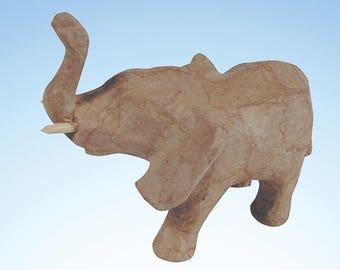 Paper Mache Elephant - Papier Mache - Papier Mâché
