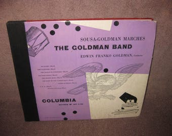 Sousa Goldman Marches - 78 RPM Record Set