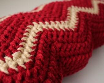 Crochet Bacon Pillow, Bacon Pillow, Bacon Throw Pillow, Food Pillow, Pop Art Pillow, Bacon Plush, Crochet Bacon Plush, Crochet Food Pillow