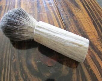 Weathered Antler & Badger Shave Brush
