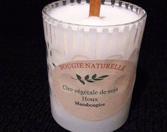 Candle natural perfume Holly Green