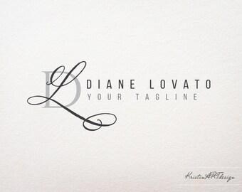 Initials logo design, Stylish watermark, Modern logo, Initials watermark, Photography logo, Elegant logo 379