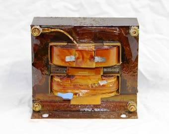 Triad-Utrad Transformer - H565-7070 - 5906 - Industrial Art - Electrical Paperweight - Vintage