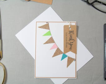 Business Thank You Card - Small Business Cards - Small Business Tags - Banner Tags - Card Tags - Handmade Seller Cards - Thank You Tags