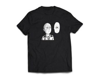 One Punch Man - Saitama OK Shirt