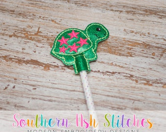 DIGITAL DOWNLOAD - Star Turtle Pencil Topper