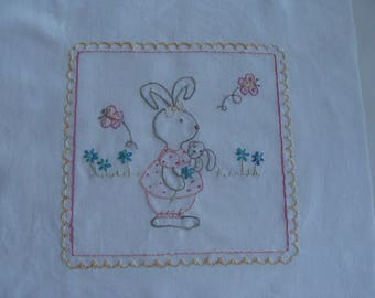 Embroidery baby Madam Bunny mentor 29 * 30, 5 cm