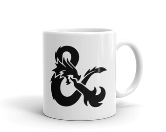Dungeons & Dragons Coffee Cup