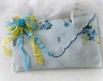 Organic French Lavender Hanky Envelope Sachets, Hanky Sachets, Wedding, Drawer Sachet, Cottage, Chic, Gift, Lavender Buds