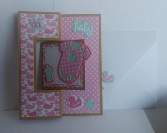 Carte bébé (naissance, félicitations, ...)