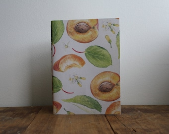 Hand-bound A5 Sketchbook - Apricot