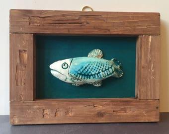 Beautiful Ceramic Fish Picture