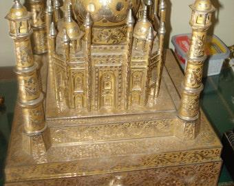 Huge Fred Zimbalist Taj Mahal Music Box