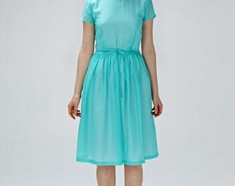 Robe bohème demoiselle d'honneur robe des années 1950 des années 50 robe Midi robe robe dos ouvert de la robe invité mariage grande taille robe robe à la main