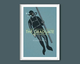 The Graduate movie poster in various sizes