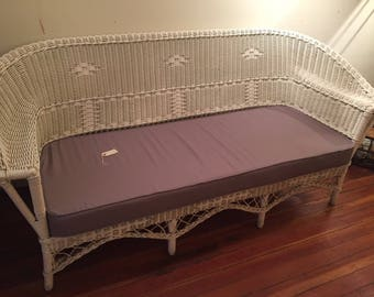 Antique Wicker Sofa And Chair Set